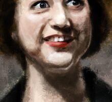 Kristen Schaal Sticker