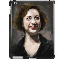 Kristen Schaal iPad Case/Skin