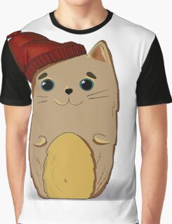 Cat in the red cap Graphic T-Shirt