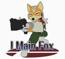 I Main Fox - Super Smash Bros Melee by PrincessCatanna