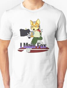 I Main Fox - Super Smash Bros Melee Unisex T-Shirt