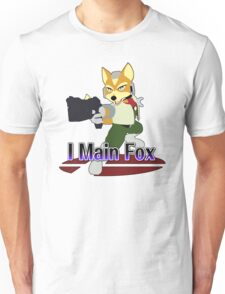 I Main Fox - Super Smash Bros Melee Unisex T-Shirt