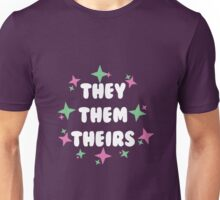 They/Them/Theirs Unisex T-Shirt