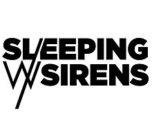Sleeping With Sirens Logo by omans Photographic Print