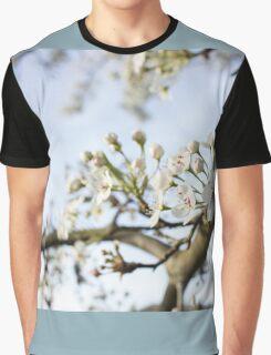 Soft White Graphic T-Shirt