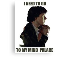 Sherlock's Mind Palace Canvas Print