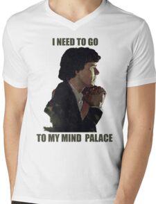 Sherlock's Mind Palace Mens V-Neck T-Shirt