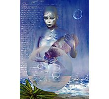 water elemental Photographic Print