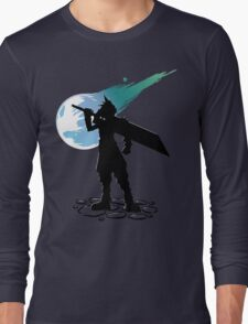 Cloud and the Meteor - Final Fantasy VII T-Shirt