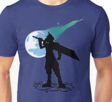 Cloud and the Meteor - Final Fantasy VII Unisex T-Shirt