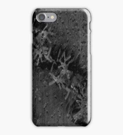 Trendy Black Graffiti iPhone Case/Skin