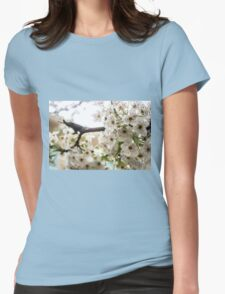 Speckled Blossoms Womens Fitted T-Shirt