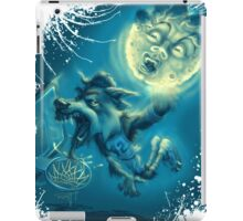 Howling at the Rim iPad Case/Skin