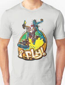 I Fly Basketball Hoops Baller T-Shirt