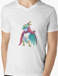 Hawluchadora Mens V-Neck T-Shirt