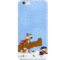 adventure calvin and hobbes iPhone Case/Skin