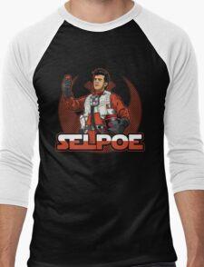 Selpoe Men's Baseball ¾ T-Shirt