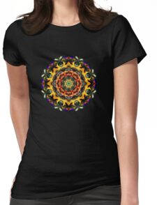 Plasmic Circle 1-3 Womens Fitted T-Shirt