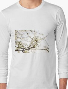 White Blossom II Long Sleeve T-Shirt