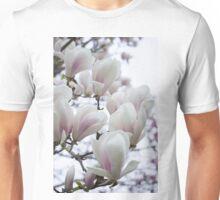Voluminous White Unisex T-Shirt