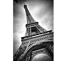 "Eiffel Tower ""dynamic"" Photographic Print"