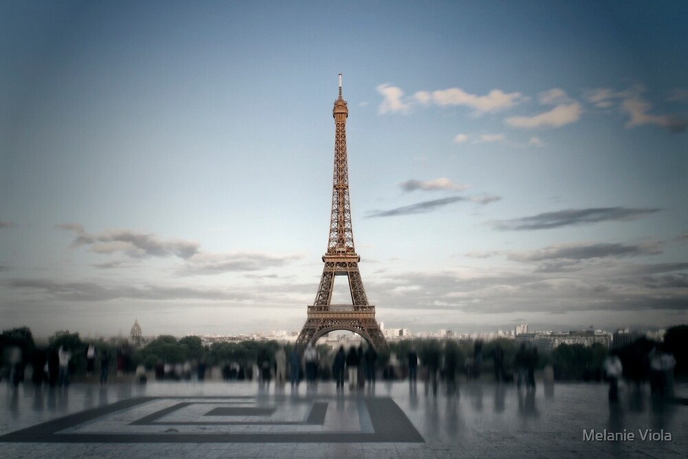 Eiffel Tower PARIS by Melanie Viola