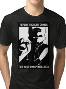 Report Thought Crimes Tri-blend T-Shirt