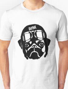 Pug Pilot Baseball Tee T-Shirt