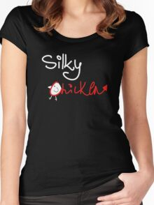 Silky Chicken Women's Fitted Scoop T-Shirt