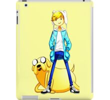 adventure time finn and jake iPad Case/Skin