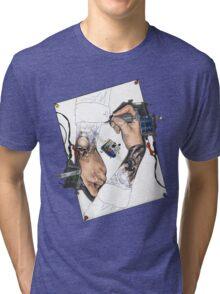 Drawing Hands Tri-blend T-Shirt