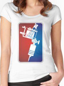 Tattoo Machine Women's Fitted Scoop T-Shirt