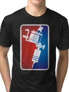 Tattoo Machine Tri-blend T-Shirt