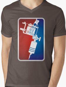 Tattoo Machine Mens V-Neck T-Shirt