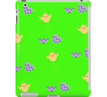 cute hatching chick eggs iPad Case/Skin