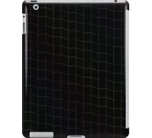 zigzag squares in Neon iPad Case/Skin