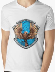 Ravenclaw Logo Mens V-Neck T-Shirt