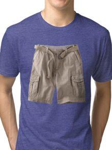 cargo shorts Tri-blend T-Shirt