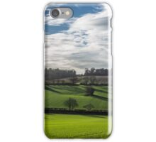 Shadows across the Hampden Country, Buckinghamshire iPhone Case/Skin
