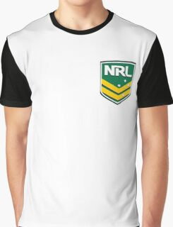 NRL Logo Graphic T-Shirt