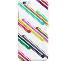 Isometric composition 1 iPhone Case/Skin