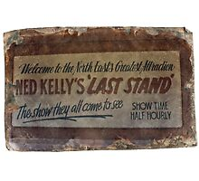 NED KELLY'S LAST STAND Photographic Print