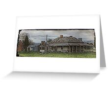 RURAL HOMESTEADS 1 Greeting Card