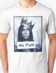 IGGY POP : NO FUN T-Shirt