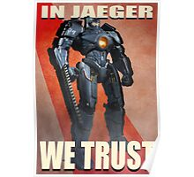 In Jaeger We Trust Poster Alt. ONE:Print Poster