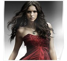 Hot Nina Dobrev Elena The Vampire Diaries Poster