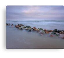 Sea stones Canvas Print