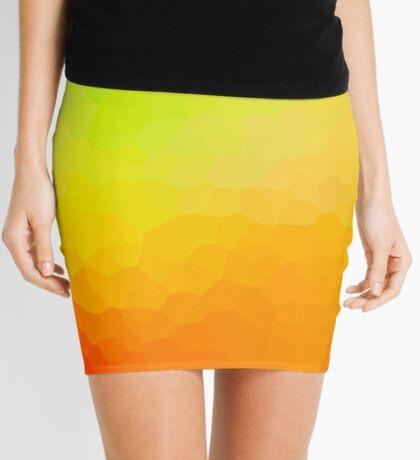abstract crystal design Mini Skirt