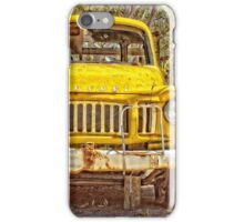 The Old Yellow Truck iPhone Case/Skin
