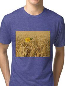 An Flower Tri-blend T-Shirt